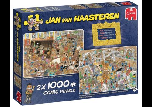Een dagje naar het museum - JvH - 2 x 1000 stukjes