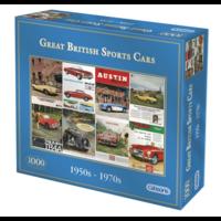 thumb-Great British Sports Cars - legpuzzel van 1000 stukjes-1