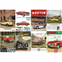 thumb-Great British Sports Cars - legpuzzel van 1000 stukjes-2