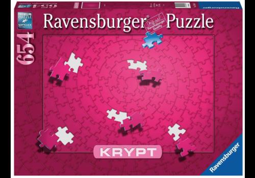 Ravensburger Krypt - PINK - 654 stukjes