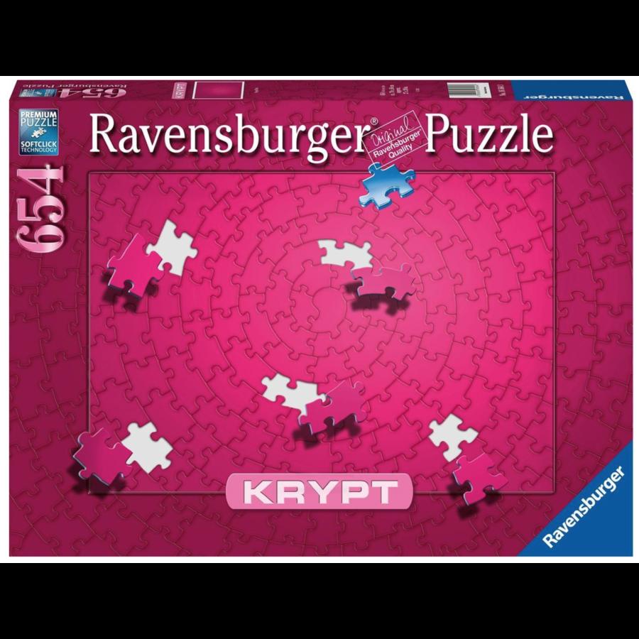 Krypt - PINK - puzzle de 654 pièces-1