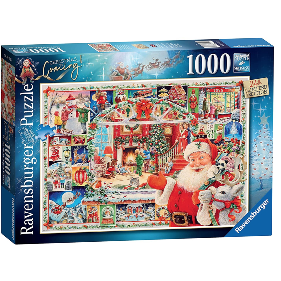 Christmas is coming! - 1000 pièces-1