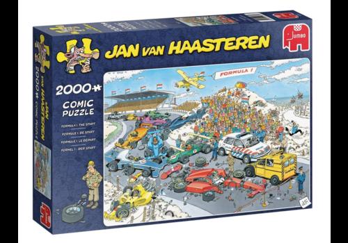 Formule 1 - De Start - JvH - 2000 stukjes