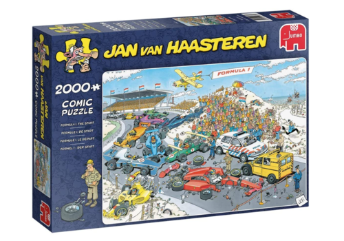 Jumbo Grand Prix - Le départ - JvH - 2000 pièces