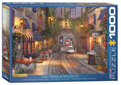 The French  Walkway - 1000 pieces