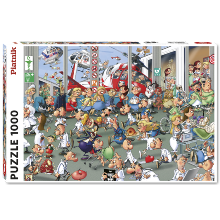 Accidents Emergencies - Comic - puzzle of 1000 pieces-2
