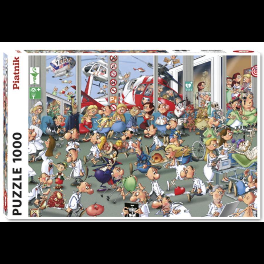 De Eerste Hulp - Comic - puzzel van 1000 stukjes-2