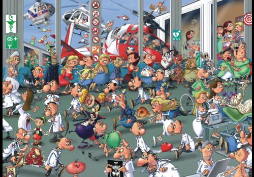 Piatnik Accidents Emergencies - Comic - 1000 pieces
