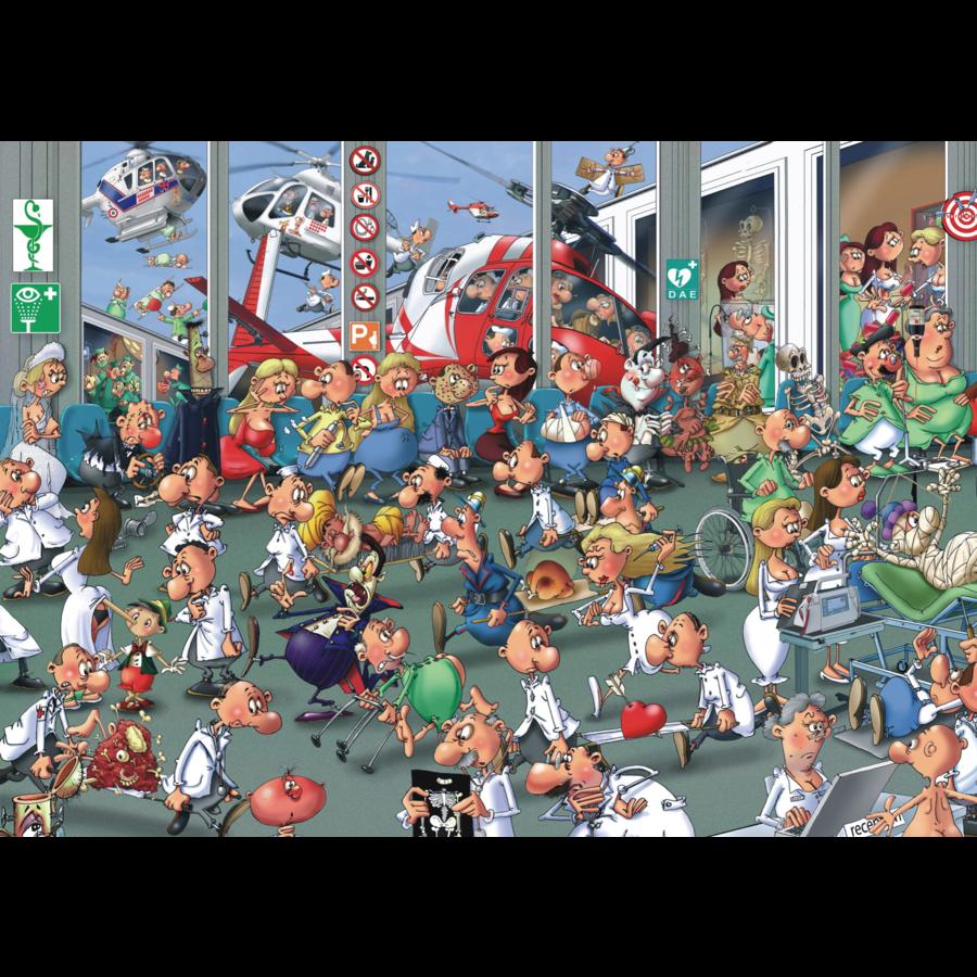 Accidents Emergencies - Comic - puzzle of 1000 pieces-1