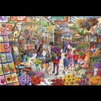 thumb-Le plaisir du jardinier - puzzle de 1000 pièces-2