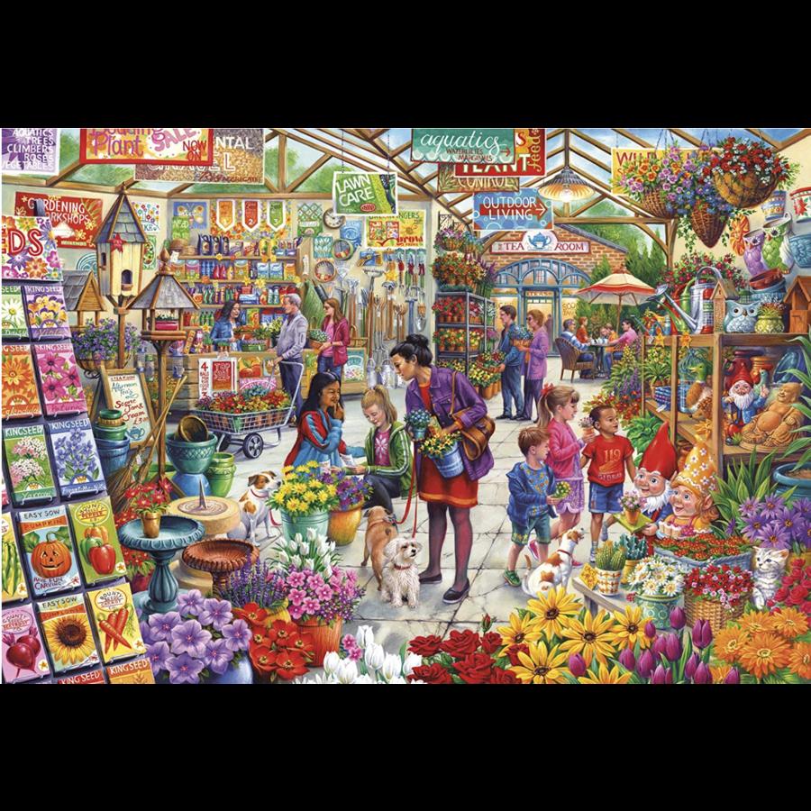 Le plaisir du jardinier - puzzle de 1000 pièces-2