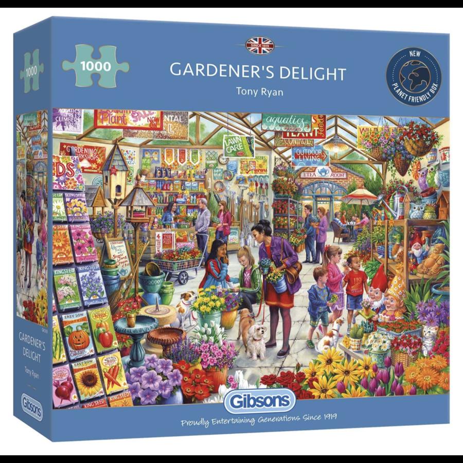 Le plaisir du jardinier - puzzle de 1000 pièces-1