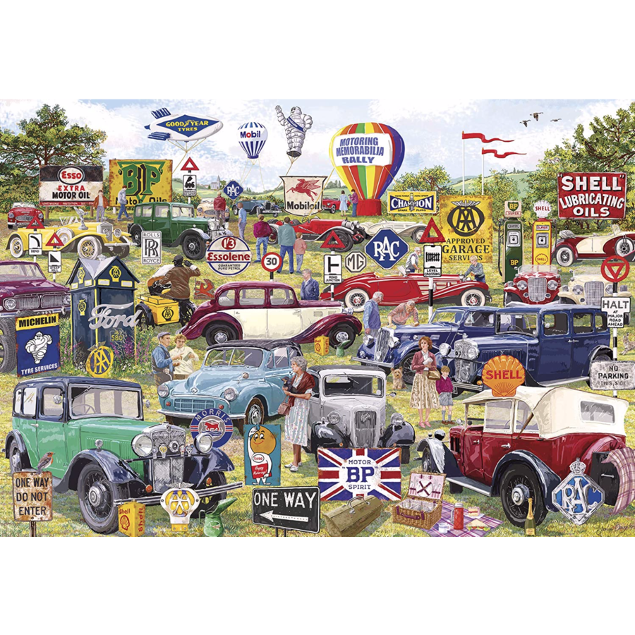 Motorische souvenirs - puzzel van 1000 stukjes-2