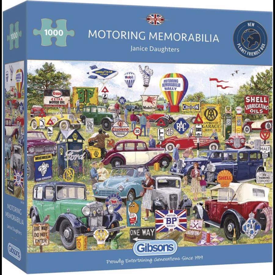 Motorische souvenirs - puzzel van 1000 stukjes-1