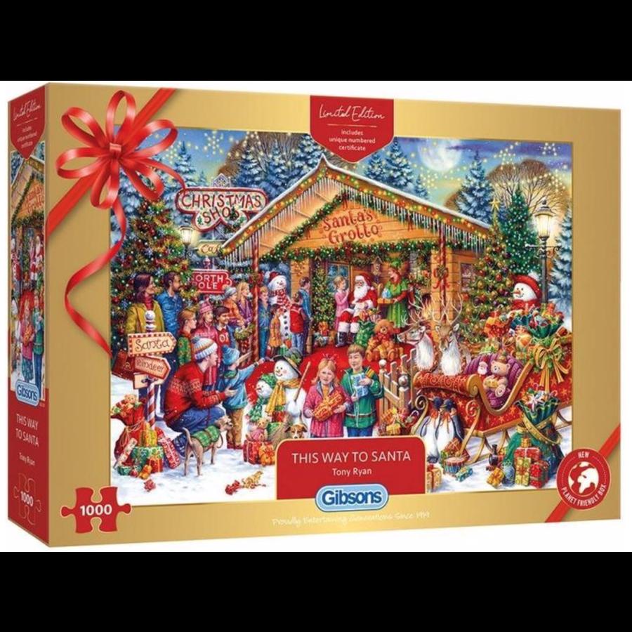 This Way to Santa - Limited Edition - 1000 stukjes-1