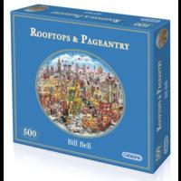 thumb-Rooftops & Pageantry - puzzel van 500  stukjes-2