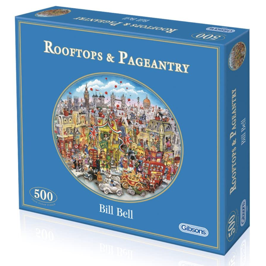 Rooftops & Pageantry - puzzel van 500  stukjes-2