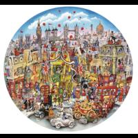 thumb-Rooftops & Pageantry - puzzel van 500  stukjes-1