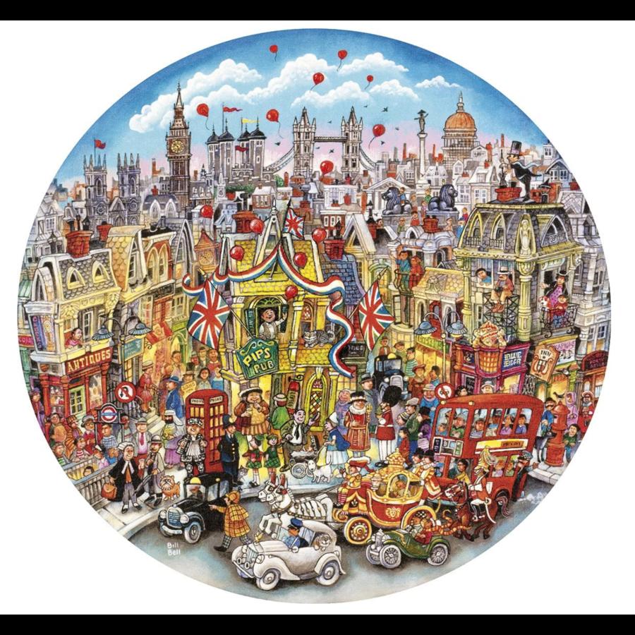 Rooftops & Pageantry - puzzel van 500  stukjes-1