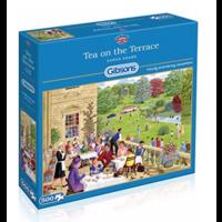 thumb-Tea on the Terrace - puzzel van 500  stukjes-1