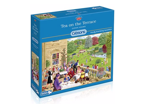Tea on the Terrace - puzzle 500 pieces