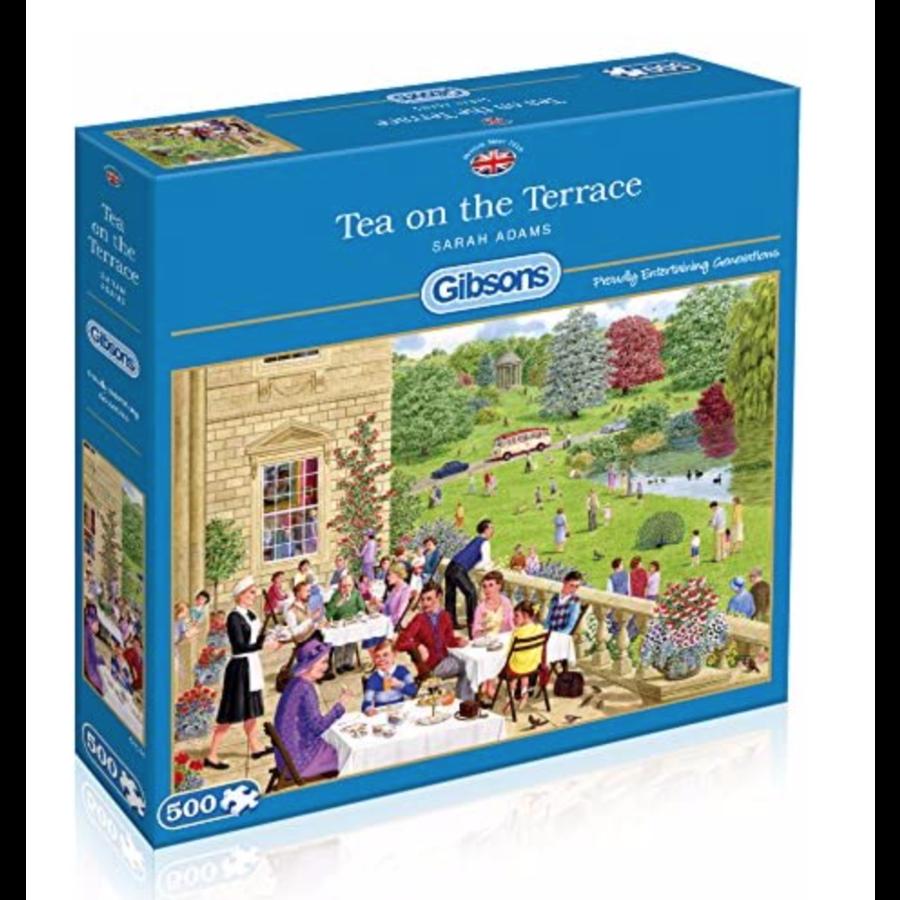 Tea on the Terrace - puzzel van 500  stukjes-1
