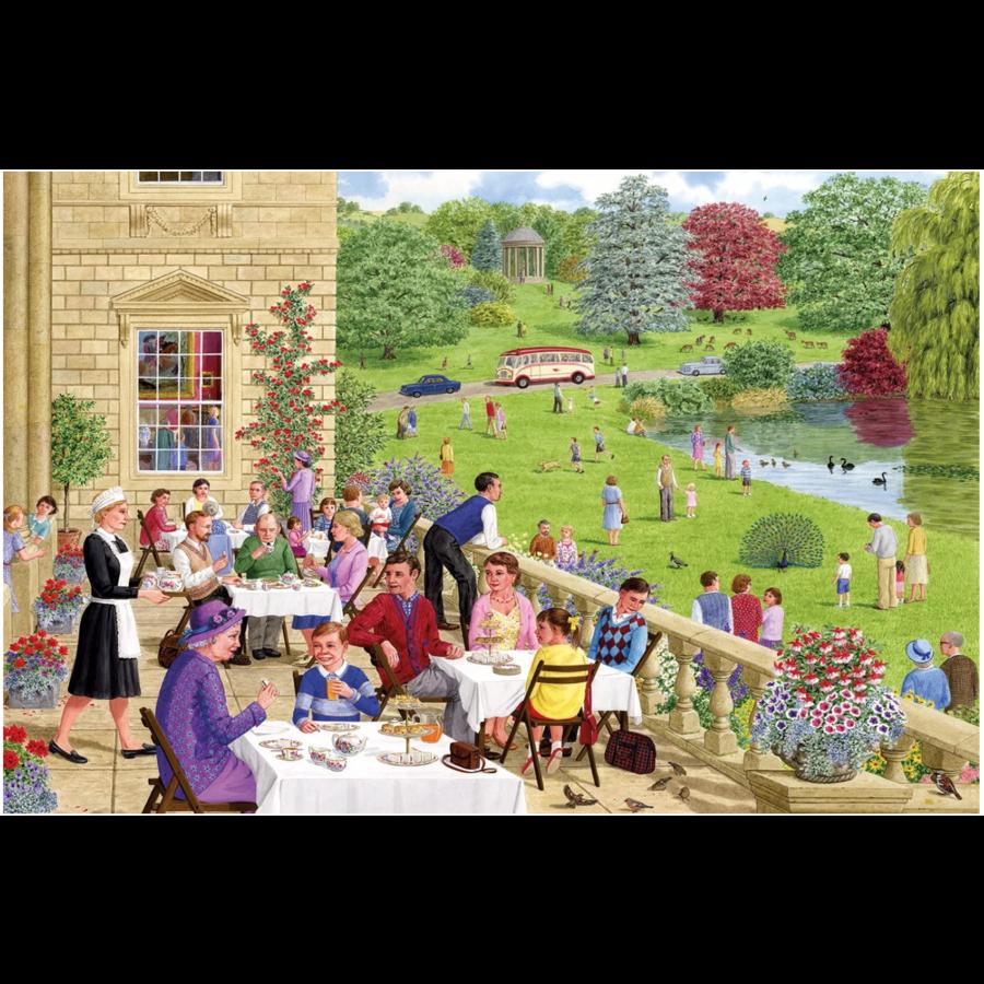 Tea on the Terrace - puzzel van 500  stukjes-2