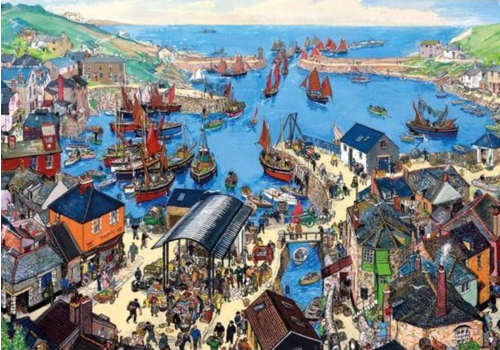 Cornish Haven - puzzle 500 pieces