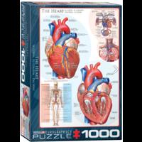 thumb-Het hart - puzzel van 1000 stukjes-1