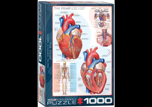 Eurographics Puzzles Le coeur - 1000 pièces
