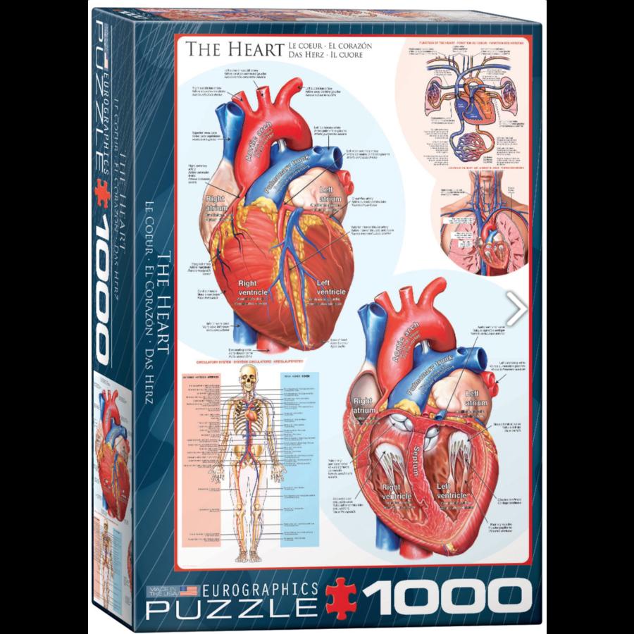 Het hart - puzzel van 1000 stukjes-1