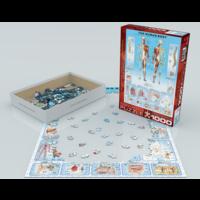 thumb-Het menselijk lichaam - puzzel van 1000 stukjes-2