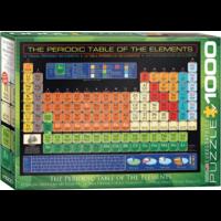 thumb-De tabel van Mendeljev   - puzzel van 1000 stukjes-1