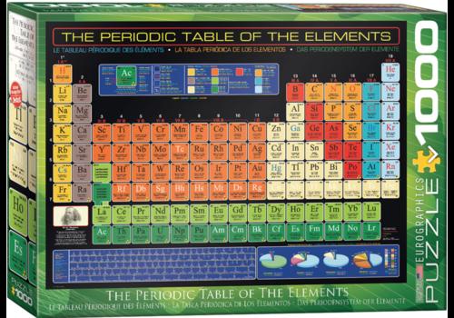 Eurographics Puzzles De tabel van Mendeljev  - 1000 stukjes