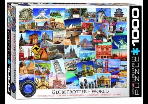 Eurographics Puzzles Bourlingueur - Le Monde - Collage - 1000 pièces