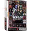 Eurographics Puzzles KISS - The Album - puzzel van 1000 stukjes