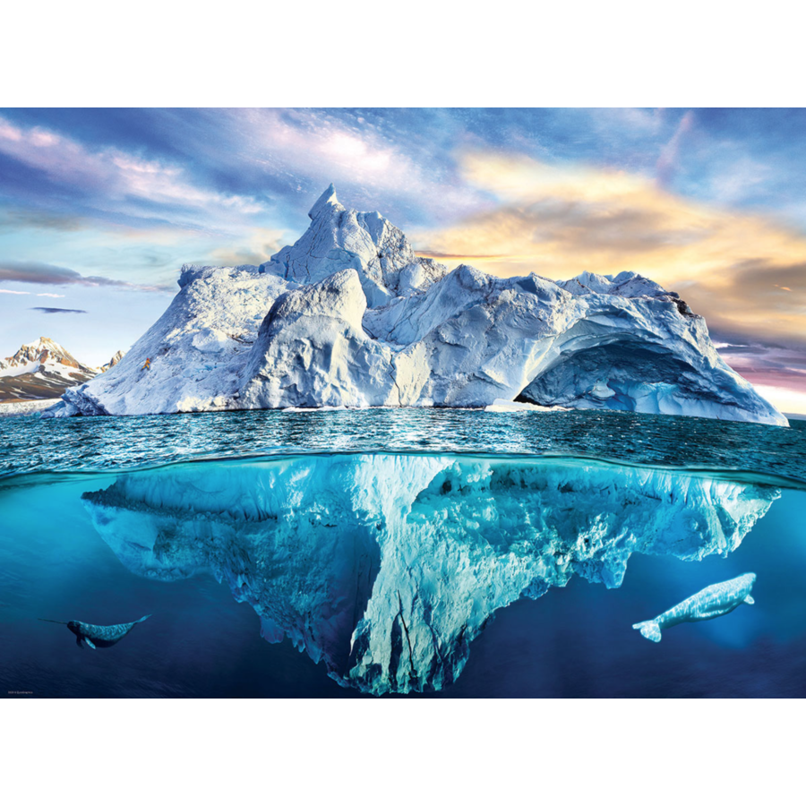 De Noordpool - puzzel van 1000 stukjes-1