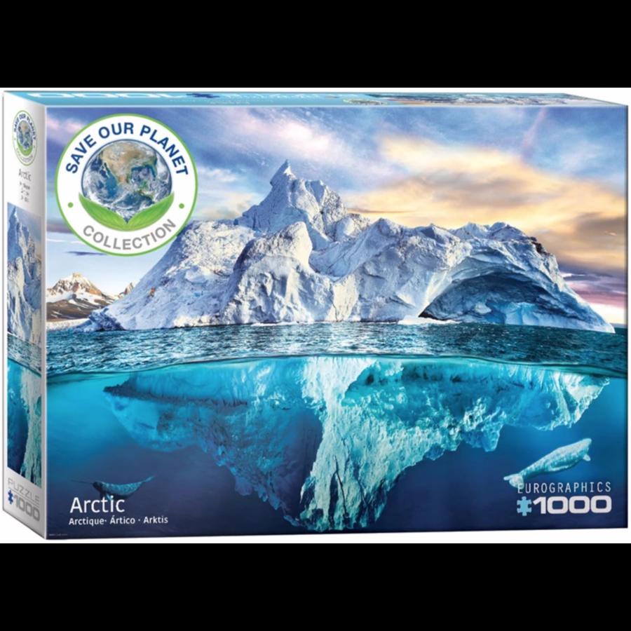 De Noordpool - puzzel van 1000 stukjes-2