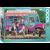 Eurographics Puzzles De ijsjeskar- puzzel van 1000 stukjes