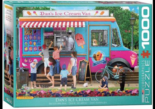 De ijsjeskar - 1000 stukjes
