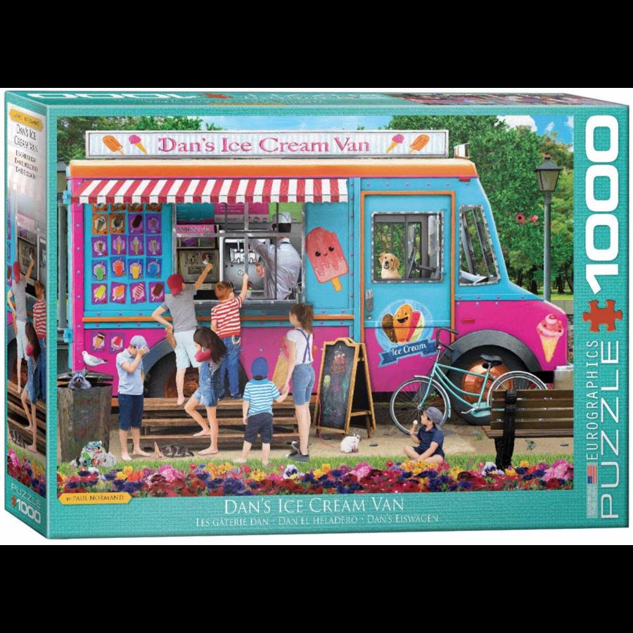 De ijsjeskar- puzzel van 1000 stukjes-1
