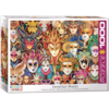 Eurographics Puzzles Venetiaanse Maskers - puzzel van 1000 stukjes