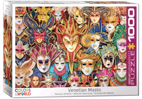 Venetian Masks - 1000 pieces