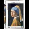 Eurographics Puzzles Vermeer - Het meisje met de parel - puzzel van 1000 stukjes