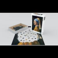 thumb-Vermeer - Het meisje met de parel - puzzel van 1000 stukjes-2