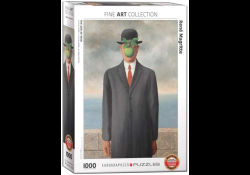 Eurographics Puzzles Magritte - Le fils de l'homme - 1000 pièces