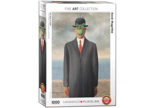 Magritte - The son of men- 1000 pieces