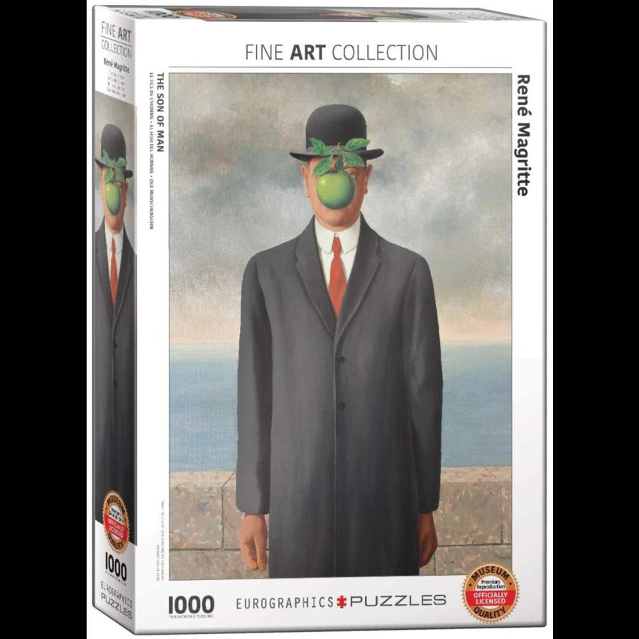 Magritte - De zoon der mensheid- puzzel van 1000 stukjes-1