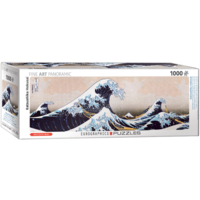 thumb-Hokusai - De grote golf- puzzel van 1000 stukjes-1