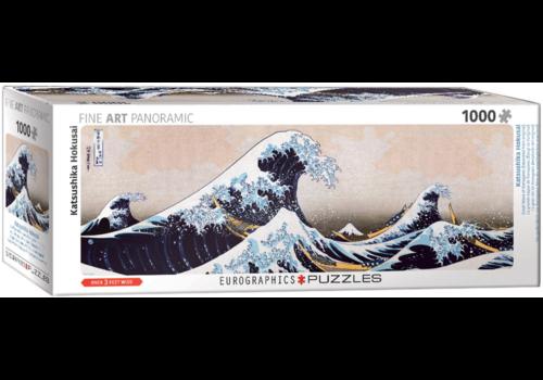 Eurographics Puzzles Hokusai - De grote golf - 1000 stukjes
